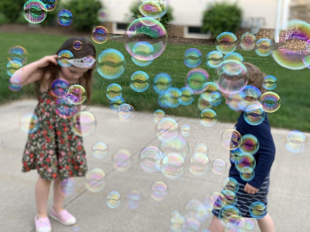 Bubble Fun with Nature's Oil